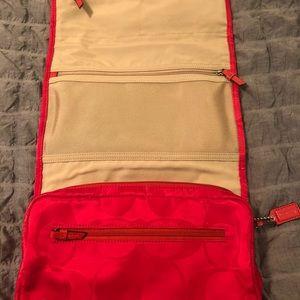 Coach toiletry bag